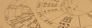 Foto van een horoscoop